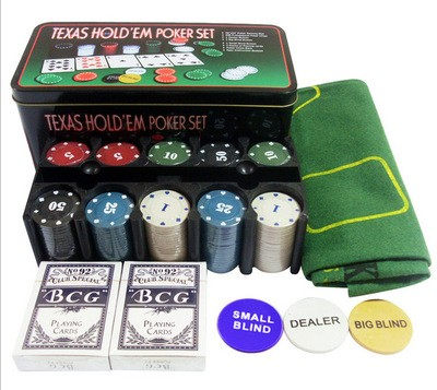 poker set Deal Three-in 200 bargaining chip set casino baccarat table cloth poker chips village code party game  block накладной светильник 2237 sonex