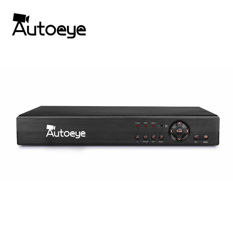 Autoeye 16CH 5in1 CCTV 1080N DVR NVR H 264 Security System Hybrid Video Recorder P2P 1080P