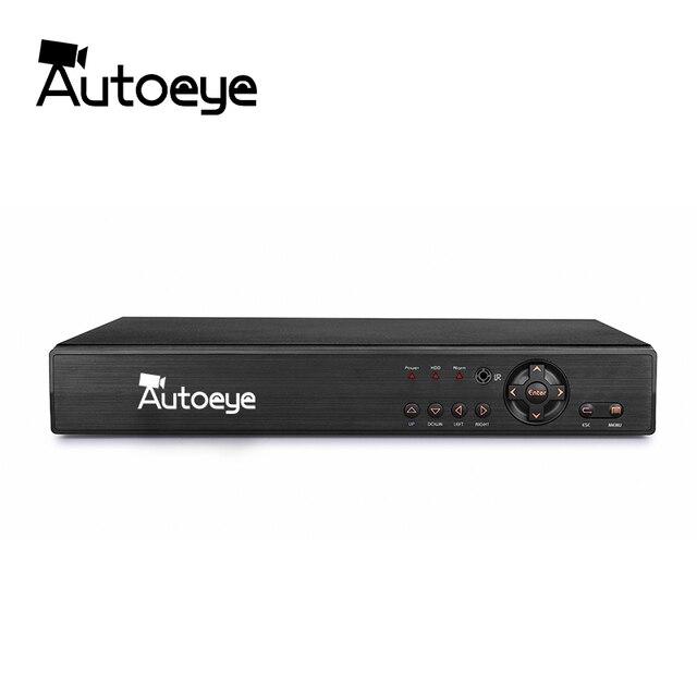 Autoeye 16CH 5in1 CCTV 1080N DVR NVR H.264 Security System Hybrid Video Recorder P2P 1080P CVBS TVI CVI IP AHD Camera Onvif