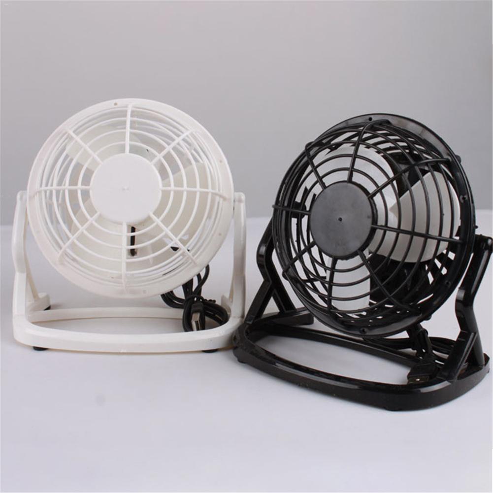Ultra Quiet Mini 4 Inch Usb Fans Plastic Portable Small Desk Fan Ful Wind For Office