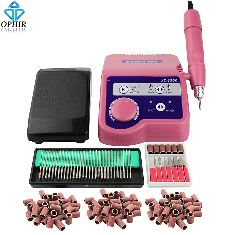 OPHIR PRO 65W 35000RPM Electric Nail Drill Machine Manicure Pedicure ...