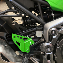 For Kawasaki Z900 2017 Foot Peg Heel Protection Protective Film Mount Guard Protector Motorcycle Accessories