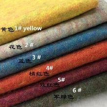 Italy Angola Mohair Wool Blended Knitted Fabrics Imported Wi