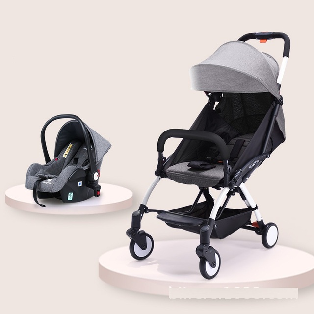 2 in 1 Baby Stroller With Car Seat