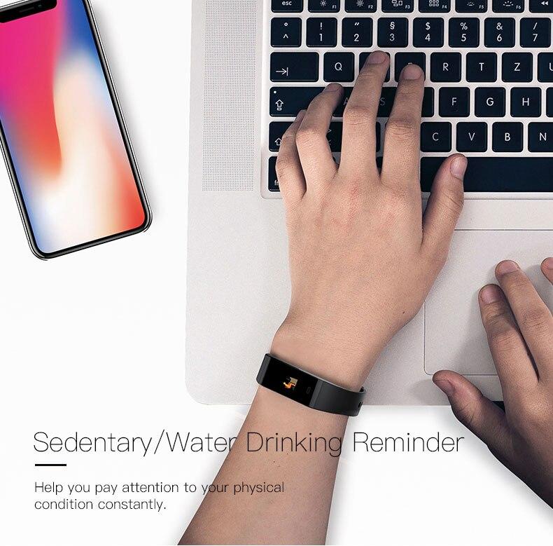 Smart bracelet blood pressure heartrate W6S (15)