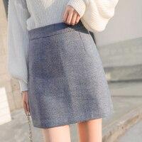Аккуратная юбка-шорты