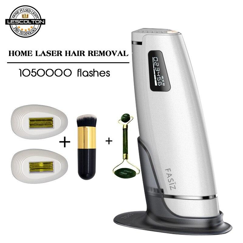 1050000 3in1 pulsada Depilação A Laser IPL Axila Depiladora Dispositivo de Remoção de Remoção Permanente Do Cabelo DO laser DO IPL da Remoção Do Cabelo da máquina Avaliado 4.