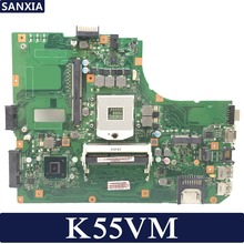Kefu K55VM материнская плата для ноутбука ASUS K55VM K55VJ A55V K55V Тесты оригинальная материнская плата