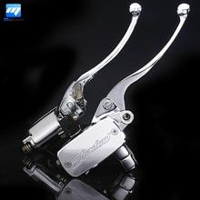 Universal 1 Zoll Motorrad Lenker Hydraulische Bremse Kupplungshebel Bremszylinder