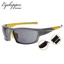 Eyekepper SG904 TR90 Bifocais Óculos de Sol Baseball Correndo Pesca Driving Golf Softball Esportes Caminhadas Leitores