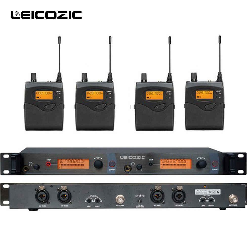 Leicozic BK2050 Drahtlose <font><b>in</b></font>-<font><b>ear</b></font>-Monitor-System ohr überwachung systeme drahtlose bühne monitor system SR2050 IEM bodypack monitor image