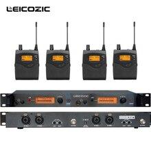 Leicozic BK2050 Беспроводной в ухо Мониторы Системы уха систем мониторинга система беспроводной сценический монитор SR2050 iem поясной монитор
