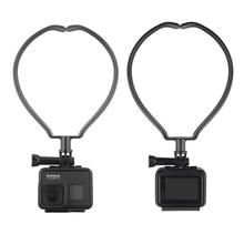 Caméra de sport Cou Monture Pour Support Pour DJI Osmo Daction GOPRO 9 8 Sjcam Xiaoyi Caméra Téléphone Portable Accrocher Kit Support de Suspension