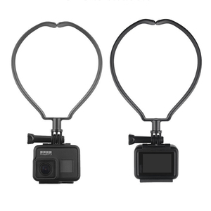 Image 1 - 스포츠 카메라 넥 홀더 DJI Osmo 액션 GOPRO 9 8 Sjcam Xiaoyi 캠코더 전화 웨어러블 교수형 키트 교수형 브래킷