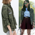 fashion women blouse casual blusa mujer military tops camisas femininas Camouflage brand winter camuflaje shirt h295
