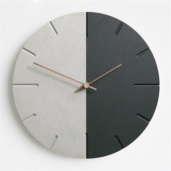 Modern Nordic Wall Clock Bedroom Clocks Departments Dining Room Entryway Living Room Rooms