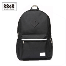 8848 Brand Black Backpacks Unisex 500 D Waterproof oxford Soft Back Type Backpack For Travel  School Student Women Men S15004-8
