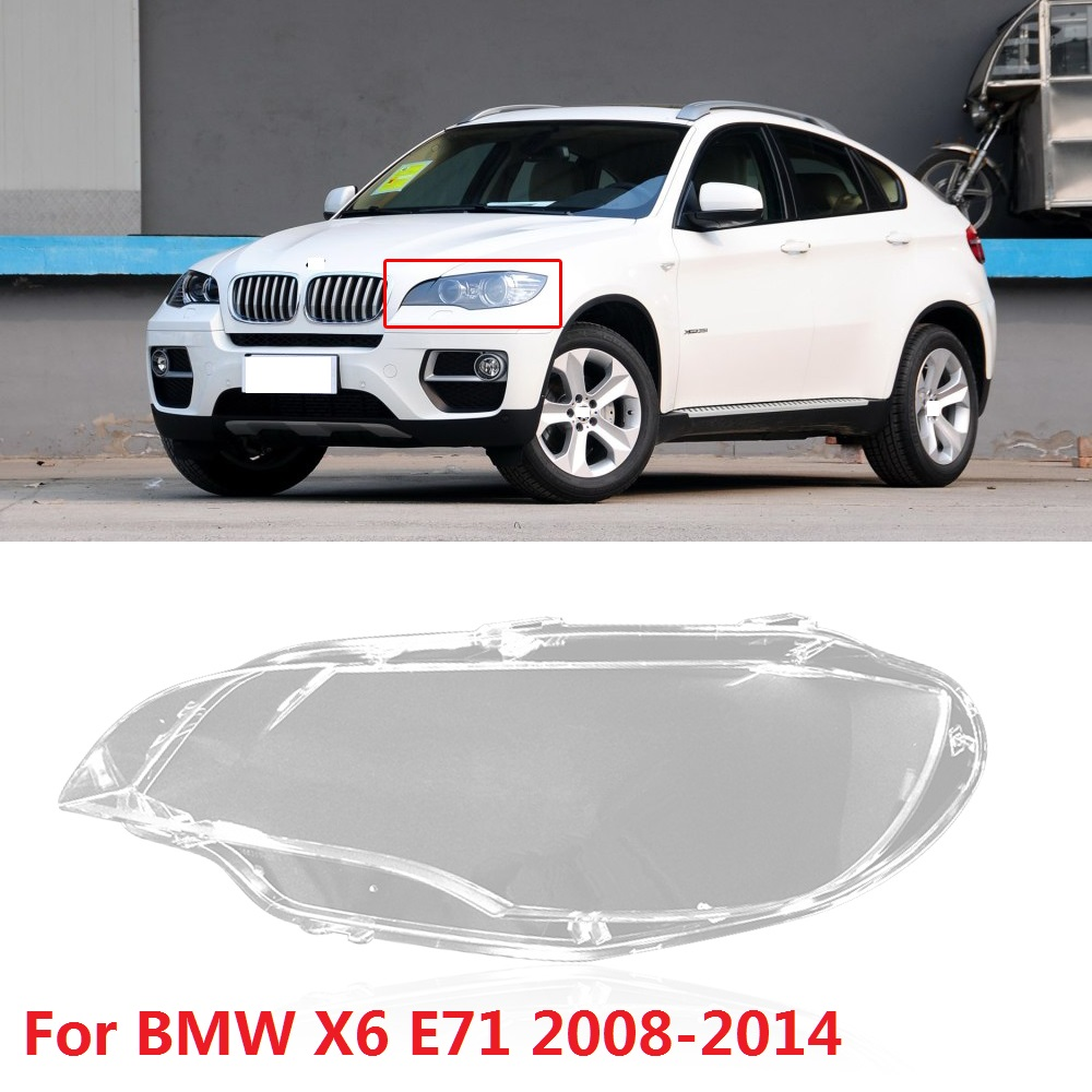 CAPQX 1PCS For BMW X6 E71 2007 2010 Facelift 2011 2014 X5M