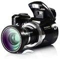 HD 16 Mega pixels Câmera Slr câmera digital câmera de vídeo com zoom digital de 8x frete grátis