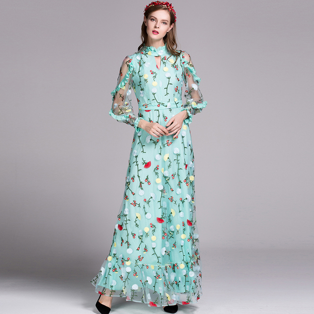 mooie lange jurk