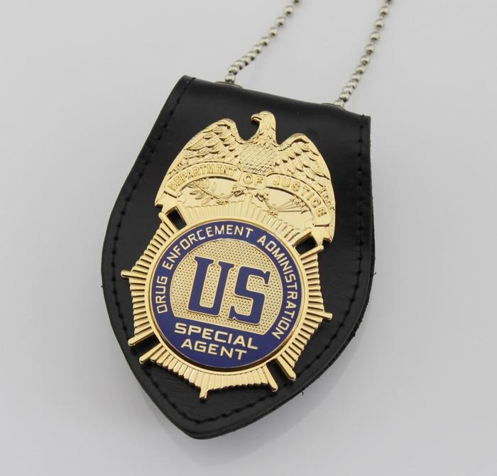 قسم العدالة المخدرات إنفاذ الادارة خاص وكيل/DEA شارة ، طبق الاصل الفيلم الدعامة دبوس Badg-في شارات من المنزل والحديقة على  مجموعة 1