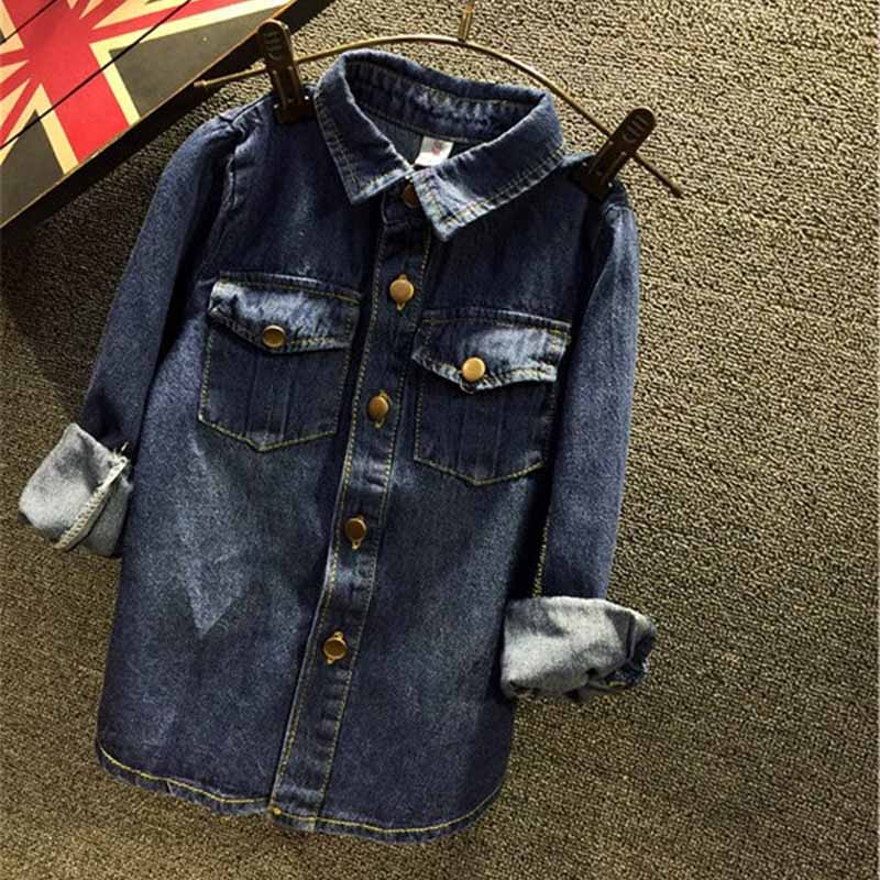 0568158f70 Toddler Kids Baby Girls Outfits denim shirt+tutu skirt set
