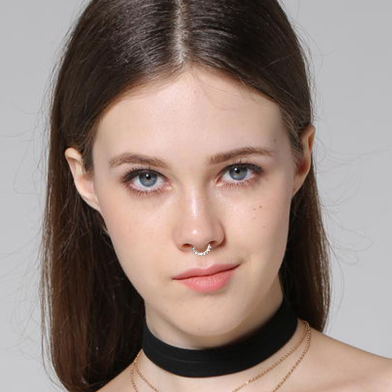 nose rings small images