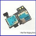 Novo original para samsung galaxy s4 active i9295 i537 micro sd cartão sim tray titular slot flex cable peças de reposição
