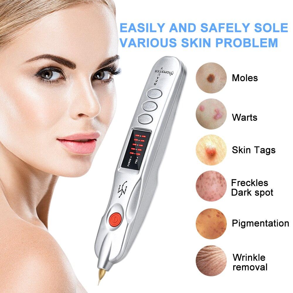 Plasma Pen Mole Wart Removal Tool Tattoo Spot Skin Tags Removal