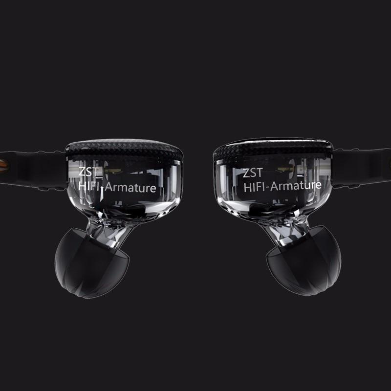 KZ ZS3 ականջակալներ սպորտային - Դյուրակիր աուդիո և վիդեո - Լուսանկար 3
