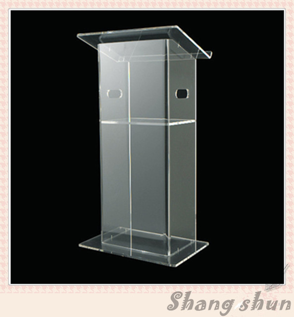 Clear Acrylic Lecterns Church Pulpit Conference Podiums Speech Lectern Clear Church Podium Crystal Pulpit
