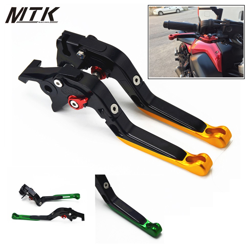MTKRACING Hot Sale For KAWASAKI VERSYS NINJA 400R Motorcycle Accessories CNC Brake Clutch Levers Logo
