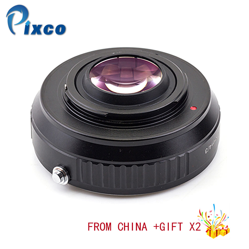 Speed Booster Focal Reducer Lens Adapter Suit For Pentax K Lens to Suit for Micro Four Thirds 4/3 Camera for Dropshipping цена и фото