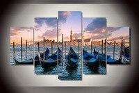 HD Gedruckt venezia venedig italien Malerei auf leinwand raumdekoration druckplakat bild leinwand Freies verschiffen