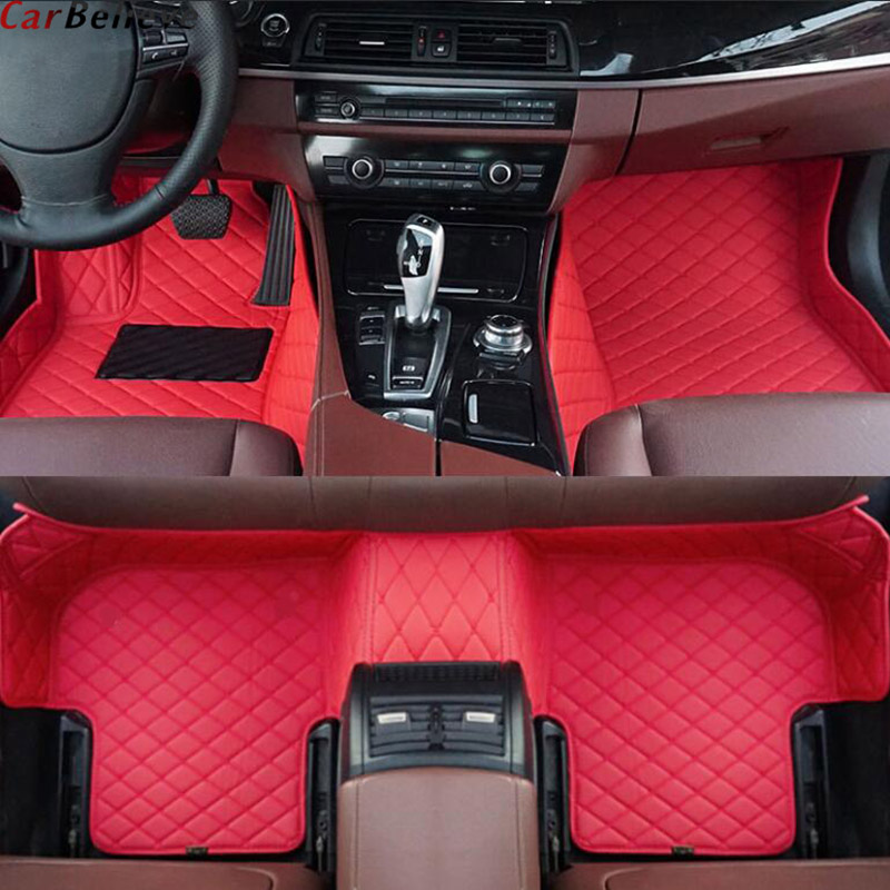 Car Believe car floor mat For mercedes w245 w212 w169 ml w163 w246 ml w164 cla gla vito w639 glk slk accessories carpet rugs image