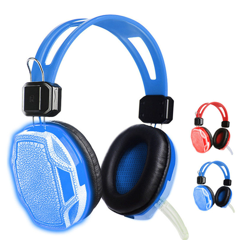 CARPRIE Stereo Gaming Headset Headband Headphone USB 3.5mm LED with Mic for PC Futural D ...
