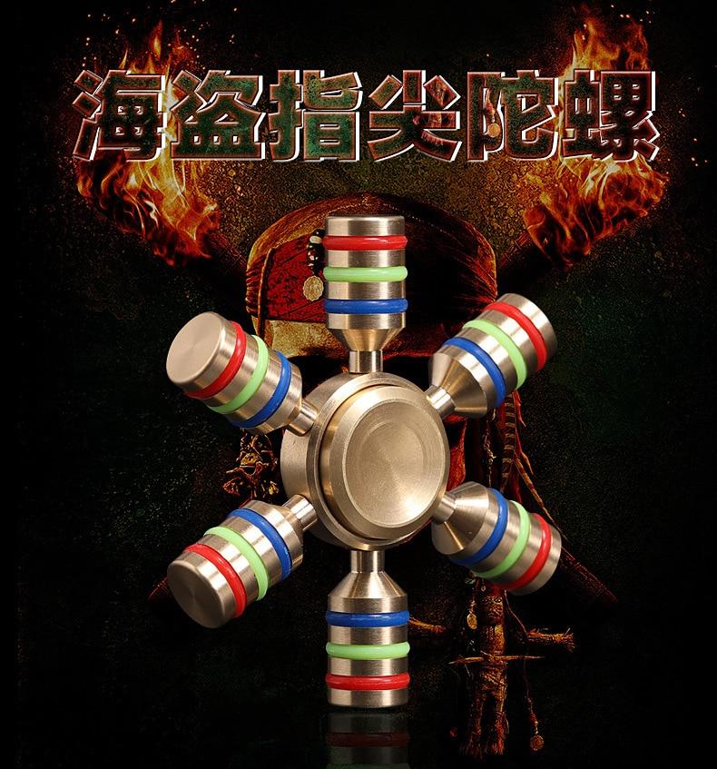 Metal Hand Spinner Handspinner EDC Fidget Toy ADHD Gyroscope Spinning Top Fidget Rotation Toys Fidget Spinner