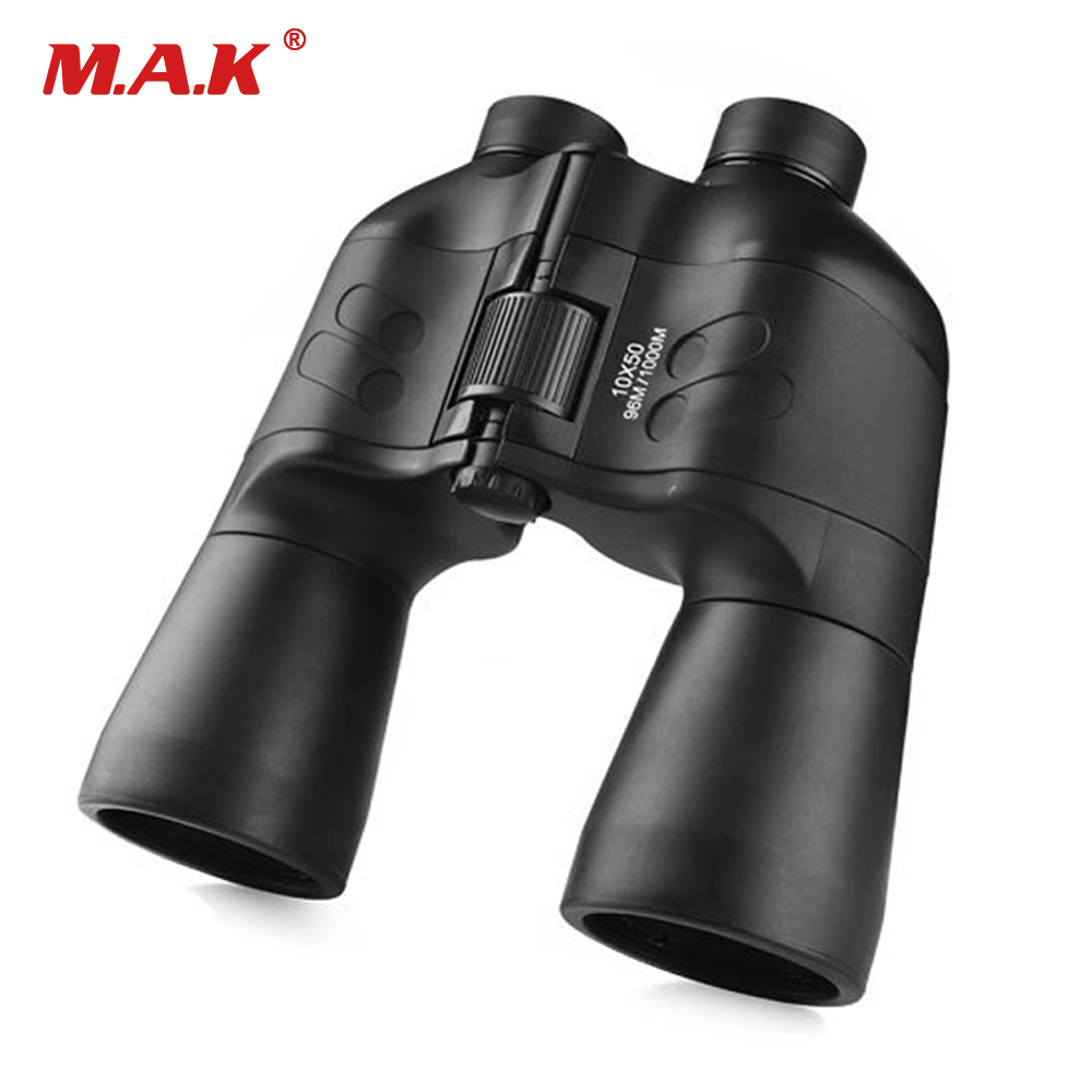 High Quality HD 10X50 Powerful Zoom Binoculars Telescope Waterproof Professional Telescope for Hunting high power portable binoculars telescope hunting telescope metal body waterproof ingress protection 4