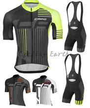 New arrived CAPO 2015 short sleeve cycling font b jersey b font bib shorts set bicycle