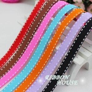 (10 jardas/rolo) 3/8 ribbons '(10mm) gorgorão colorido fita atacado presente casamento baking fitas