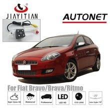 JiaYiTian-cámara de visión trasera para Fiat Bravo/Brava/Ritmo 2007 ~ 2016 CCD, cámara de respaldo de visión nocturna, asistencia de estacionamiento