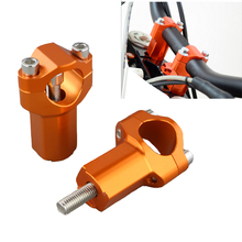 Fit For KTM 525 530 EXC Racing Six Days CNC 28MM 1 1/8 Motorcycle Accessories Aluminum Handlebar Riders Bar Mount Clamp