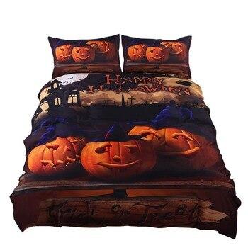 Halloween Bedding Set Gift 3D Print Zombies Duvet Cover Set