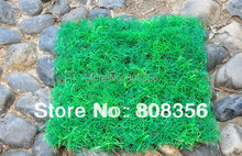 4Pcs 25*25cm Artificial Plastic Grass Simulation Turf Green Snapdragon Lawn Home Decoration