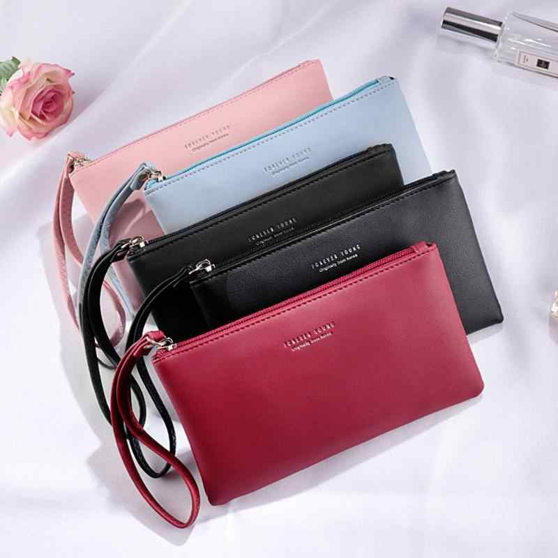 bb5e6465a82b ... Women Clutch Bag Simple Black Pu Leather Crossbody Bags Enveloped  Shaped Messenger Shoulder Bags Big Sale ...