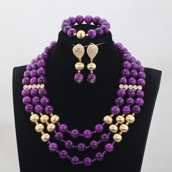 Shiny Purple African jewelry set  Nigerian Bridal Jewelry Set Marvelous Design Free Shipping QW923Shiny Purple African jewelry set  Nigerian Bridal Jewelry Set Marvelous Design Free Shipping QW923