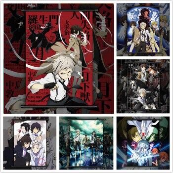 Bungou Stray Dogs Dazai Chuuya Ryunosuke Anime manga wall Poster Scroll C недорого