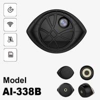 Black Version Super Mini Portable Magnetic WiFi Security DVR Camera Motion Detection & Magnetic Bracket Universal Installation