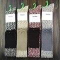 Coxa alta Meias Longas Mulheres Stripey Over The Knee Socks Coxa Alta Meias Gradiente De Algodão Longo CYF016