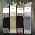 New Fashion Women Winter Warm Over The Knee Socks Thigh High Long Cotton Gradient Stockings CYF016